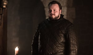 John Bradley as Samwell Tarly.