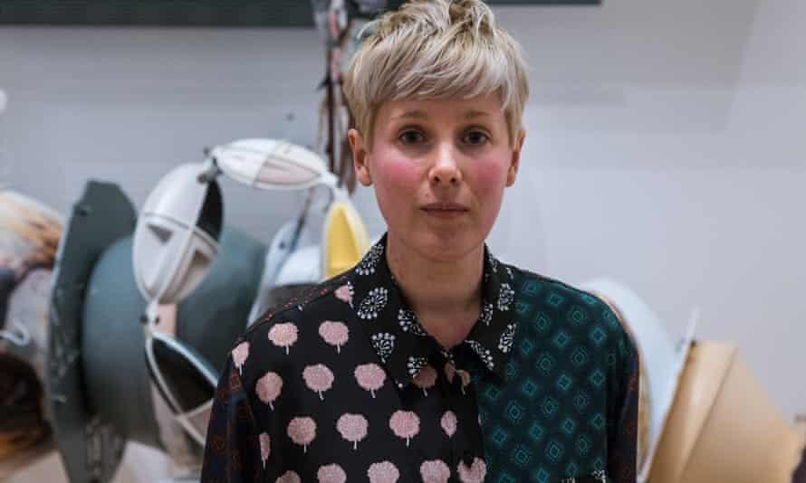 The 2016 Turner prize winner Helen Marten