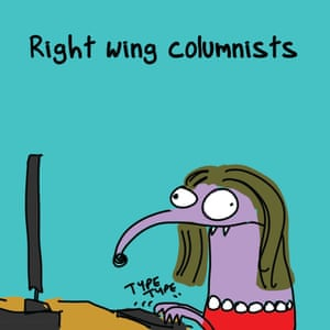 """Right wing columnists?"""