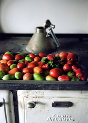 19. Peppers and Tomatoes