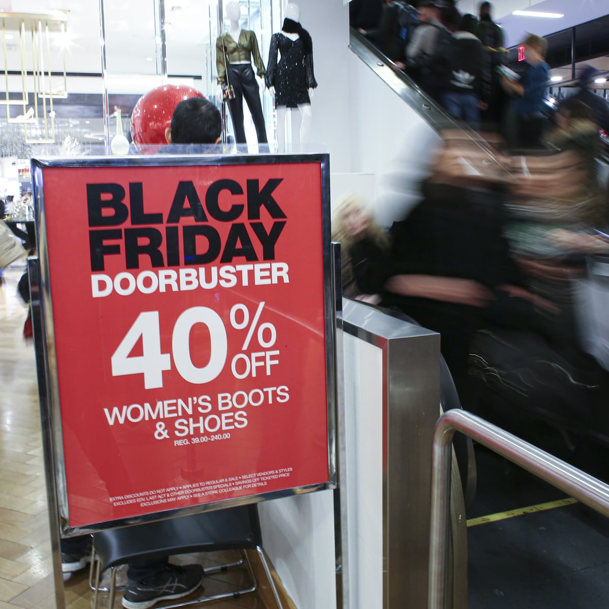 Us Retail Employees Call Out Working Conditions With Black Friday Protests Black Friday The Guardian