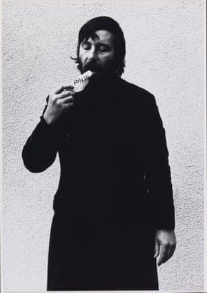 Keith Arnatt Art as an Act of Retraction (detail) 1971
