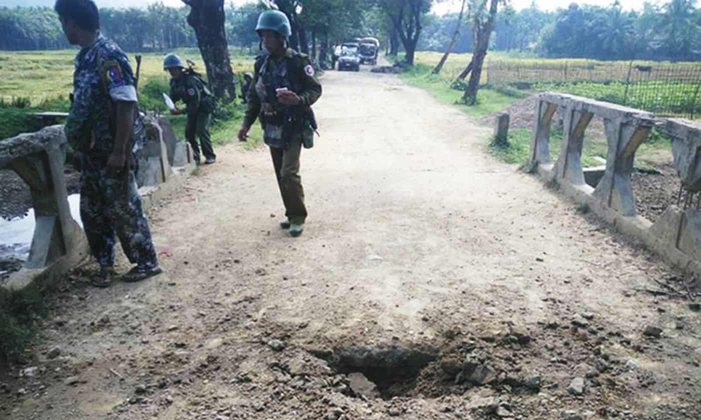 Eight dead in clashes between Myanmar army and militants in Rakhine
