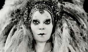 Lindsay Kemp as Salomé in 1978 in Toronto.