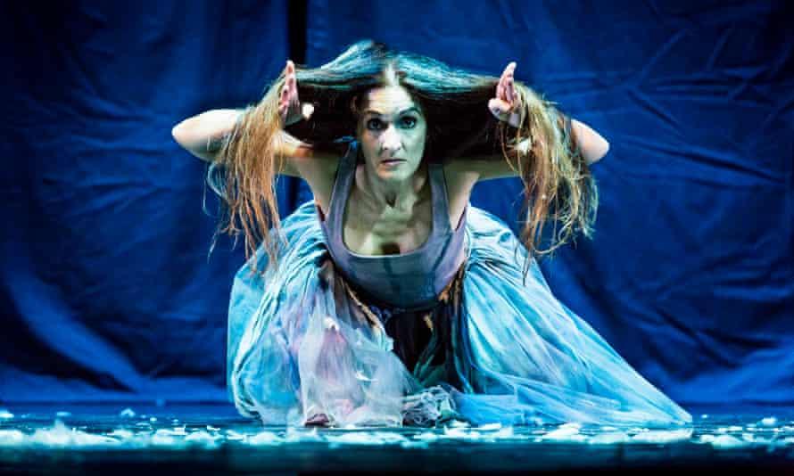 Daniela Maccari performing The Swan from Kemp Dances.