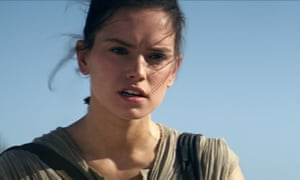 She's no chicken … Rey considers her options.