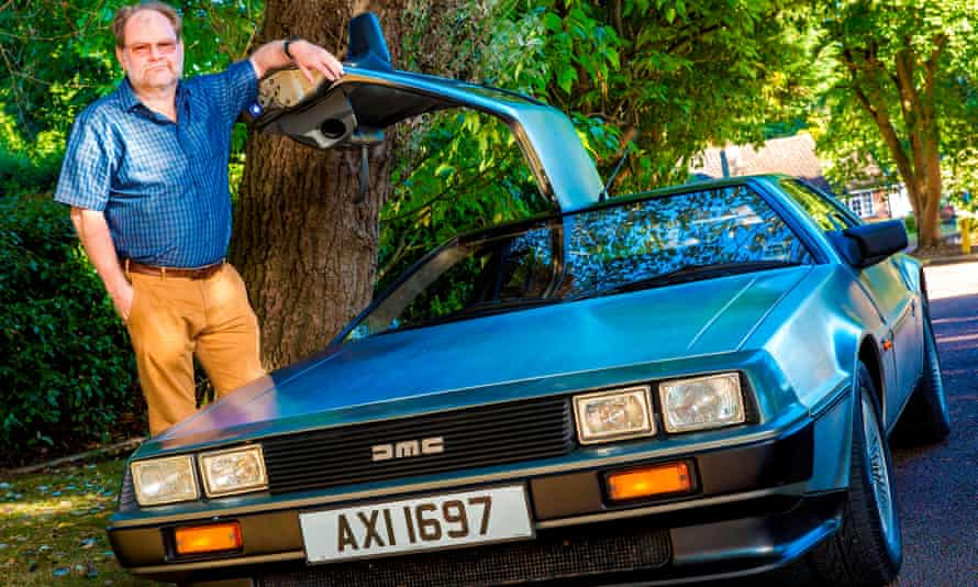 Nigel Mills who was caught speeding at 88mph in his Delorean.