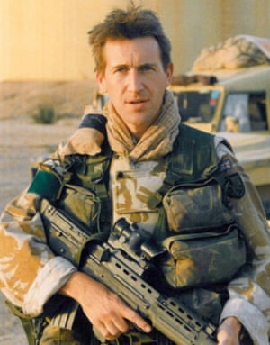 Jarvis during his time in the Parachute Regiment.