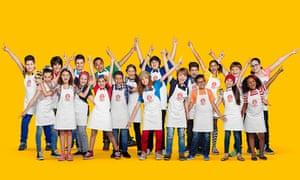 Contestants on the Brazilian version of Junior MasterChef
