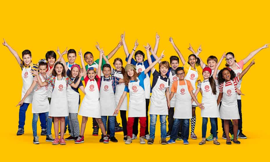 Contestants on the Brazilian version of Junior MasterChef
