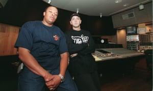 With Eminem in 2000.