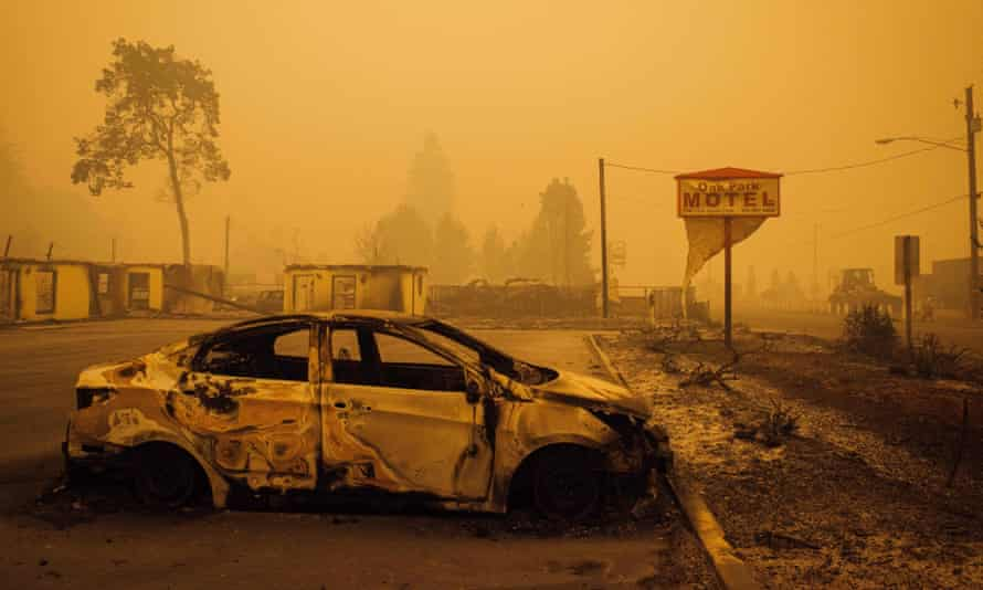 'As Americans in California, Washington and Oregon are discovering, wildfires do not only impact the wilderness. Towns and suburbs are not inviolate.'