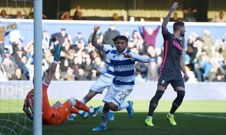 QPR's Nahki Wells hands wasteful Leeds defeat with controversial goal
