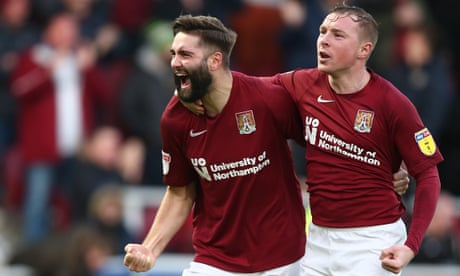 Northampton's Jordan Turnbull: 'Sharing a pitch with Rooney is special'