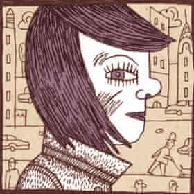 Nora Krug self-portrait.