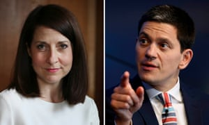 Liz Kendall is backed by David Miliband for her 'plain speaking, fresh thinking and political courage'.
