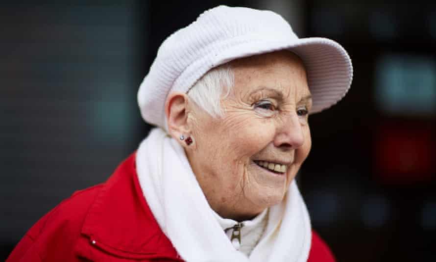Dorothy Marsh, 83, in Wigan.