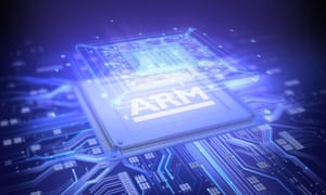 ARM Holdings chip