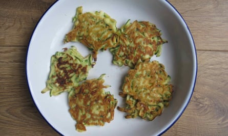 BBC Good Food's fritters.