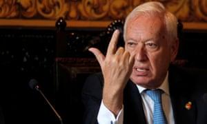 Spanish foreign minister Jose  Garcia-Margallo