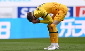 Joe Rodon reacts at the final whistle and dropped points for Spurs.