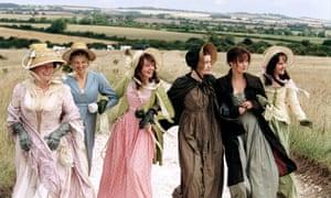 The Bennet women in Joe Wright's 2005 film version of Pride and Prejudice.