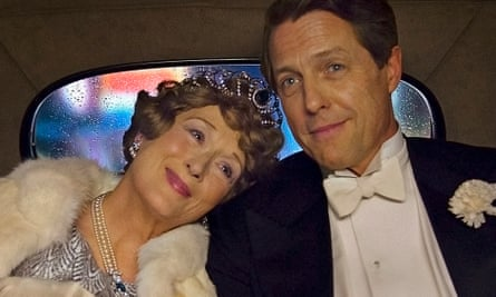 No wrong notes … Meryl Streep and Hugh Grant in Florence Foster Jenkins.