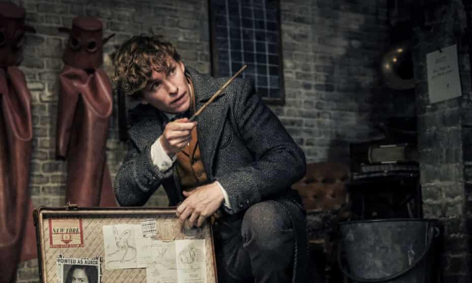 Eddie Redmayne as Newt Scamander in Fantastic Beasts: The Crimes of Grindelwald.