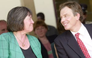 The then international development secretary Clare Short Short with prime minister Tony Blair in 2002, a year before the invasion of Iraq