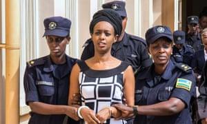 Diane Rwigara, a prominent critic of Rwanda's President Paul Kagame.