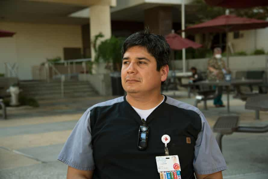 Dr René Ramirez said many of his patients suffer from underlying medical conditions that make it hard to cope with the heat.