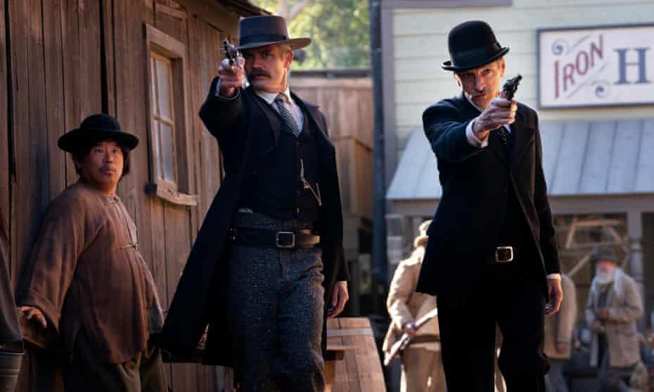 Beauty in depravity ... Deadwood: The Movie.