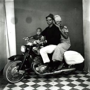 Toute la famille moto 1962