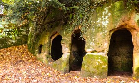 Hermit's Cave, Dale Abbey, Derbyshire