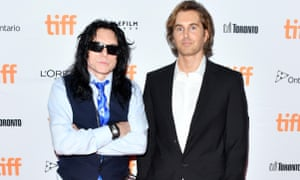 'Cringe inducingly terrible' ... Tommy Wiseau (left) and Greg Sestero, whose travails on The Room have been chronicled in The Disaster Artist.