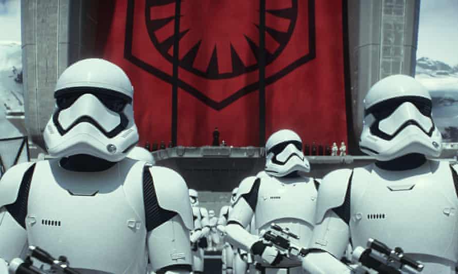 Star Wars The Force Awakens John Boyega stormtrooper African American