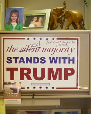 Support for Donald Trump in Northampton, Pennsylvania.