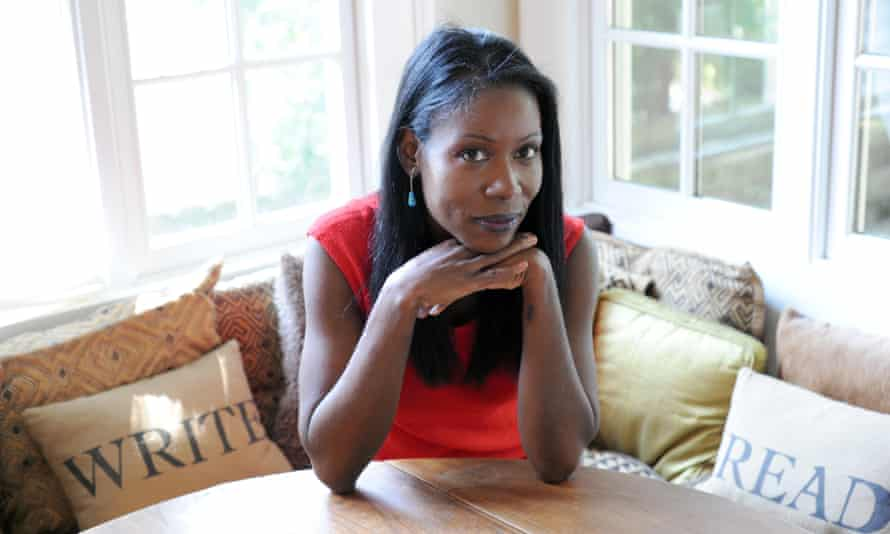Isabel Wilkerson at her home in Atlanta, Georgia.