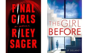 Not what they seem … Riley Sager's Final Girls, and JP Delaney's The Girl Before.