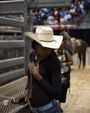 """""""In my community so many people don't believe that women ride. Not just women but black women""""."""