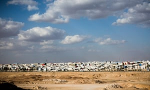 View of the Ain Issa IDP camp.