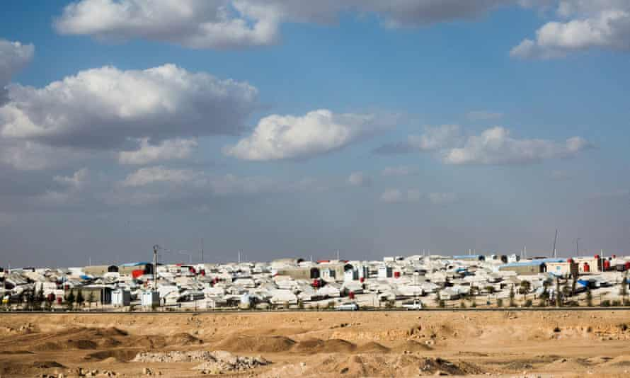 The Ain Issa IDP camp.