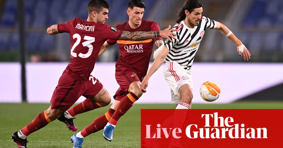 Roma v Manchester United: Europa League semi-final, second leg – live! - the guardian