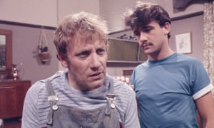 Peter Armitage playing Bill Webster and Michael Le Vell as his son Kevin Webster in Coronation Street.