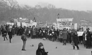 The Observer's John Heilpern (JH) reported: 'About 2,500 women, many with husbands and boyfriends marched from Speaker's Corner to Trafalgar Square in a cruel blizzard which might have deterred lesser women'