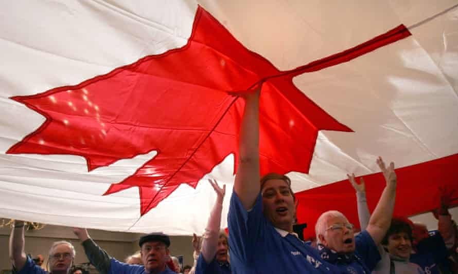 If passed, the third line of Canada's national anthem will change from 'True patriot love in all thy son's command' – to 'all of us command'.