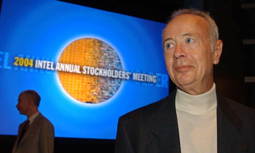 Andy Grove in 2004.