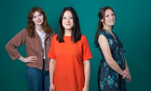 The founders of Birdsong London: Sophie Slater, Susanna Wen and Sarah Neville