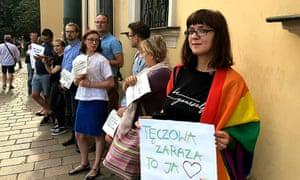 LGBT campaigner Magda Dropek.