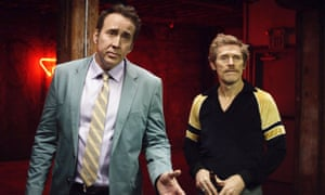 'Muddy': Nicolas Cage and Willem Dafoe in Dog Eat Dog